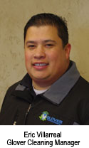 Eric Villarreal Glover Cleaning Manager