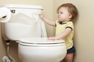 What if My Kid Puts Stuff Down the Toilet